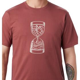 Mountain Hardwear MTN & Sea Hourglass T-shirt Homme, washed rock